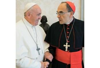 Eglise catholique / Pédophilie Le pape refuse la démission de Barbarin