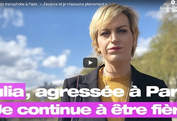 Agression transphobe place de la République : « J'avance et je m'assume pleinement », témoigne Julia