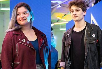 « Tu choisis de qui tu tombes amoureux toi? » : on a rencontré Eliott et Alexia, les deux icônes LGBT+ de « Skam France »
