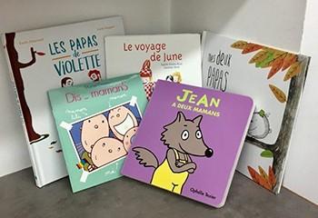 Cinq beaux livres pour enfants qui parlent d'homoparentalité