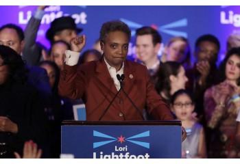 Etats-Unis: Lori Lightfoot, femme noire et ouvertement lesbienne, est la nouvelle maire de Chicago