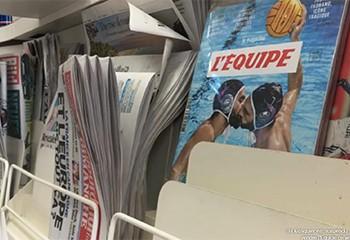 """Homophobie: suspension du kiosquier qui refusait de vendre """"l'Équipe"""""""