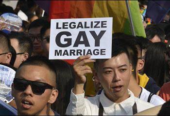 Lors de la journée mondiale contre l'homophobie, Taïwan légalise le mariage pour tous