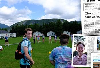 Rencontre avec Jessue Lawrence d'Ohana, un camp d'été pour les jeunes LGBTQ