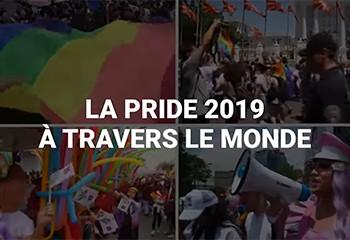 Les images de la Gay Pride 2019 dans le monde