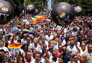 La Gay Pride de New York a réuni près de 3 millions de personnes