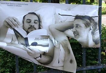 A Bourges, l'exposition photo d'Olivier Ciappa vandalisée