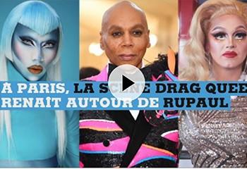 A Paris, la scène drag-queen renait autour de l'icone RuPaul