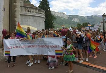 Succès pour la première Pride d'Annecy