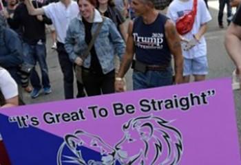 Etats-Unis A Boston, défilés pour et contre la fierté hétérosexuelle