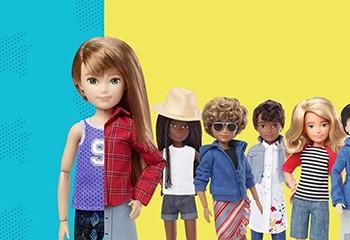 Créatrice de Barbie et Ken, Mattel lance une collection de poupées genderfluid !