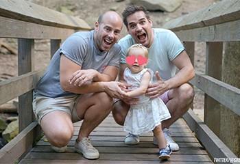 Les familles homoparentales viennent mettre des paillettes dans vos vies sur Twitter !