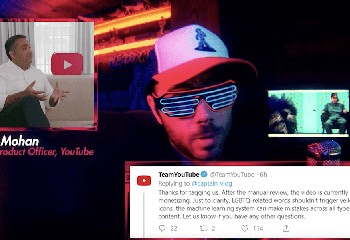 Youtube aurait encore un problème avec les mots « gay », « lesbienne » ou « genre »