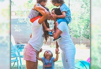 DesPaillettesDansNosVies : l'opération visibilité des enfants arc-en-ciel