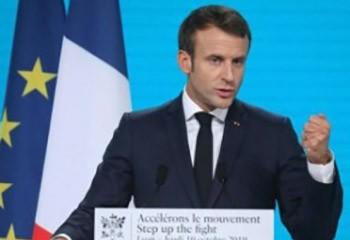 Conférence de Lyon Emmanuel Macron annonce une augmentation de 15% de la contribution de la France à la lutte contre le sida