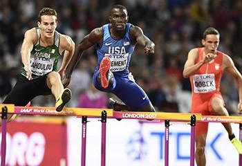 Le double champion olympique d'athlétisme Kerron Clement fait son coming out
