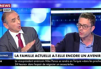 Sur CNews, cette sortie d'Éric Zemmour sur l'homosexualité indigne