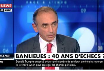 Eric Zemmour sur CNews : avant l'épisode Bugeaud, dix jours d'escalade