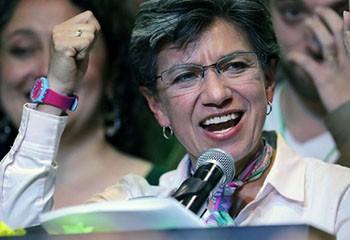 Colombie : Claudia Lopez, première femme élue maire de Bogotá