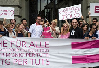 Mariage civil pour tous avec la bénédiction des protestants
