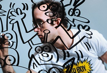 Quand Bruxelles célèbre Keith Haring, l'activiste