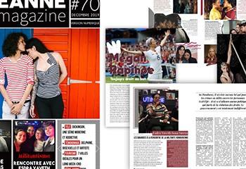 Sortie de Jeanne Magazine n°70 Décembre 2019