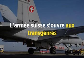 L'armée suisse s'ouvre aux transgenres