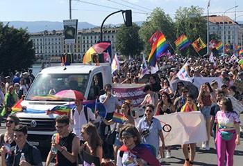 Un week-end des fiertés en septembre à Genève
