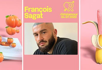 fetelamour : Ce samedi 4 juillet, François Sagat dira « oui à l'amour, non au sida »…
