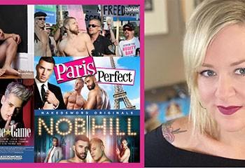 mr. Pam, la réalisatrice multiawardisée du X gay US, quitte NakedSword pour voler de ses propres ailes !