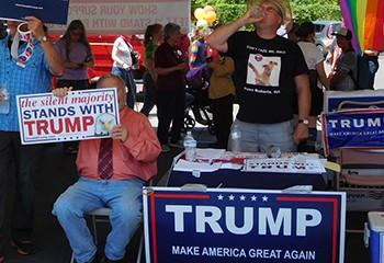 Plus d'un quart des LGBT américains auraient voté Trump