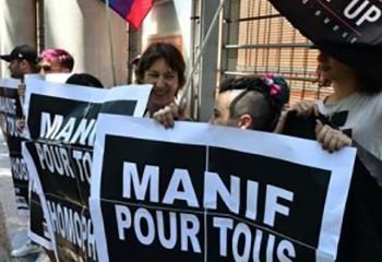 Liberté d'expression La justice estime qu'Act Up a le droit d'affirmer que La Manif pour tous est homophobe et complice du Sida