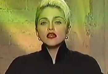 Cette vidéo de 1990 est une réponse à tous ceux qui se demandent pourquoi Madonna est une icône