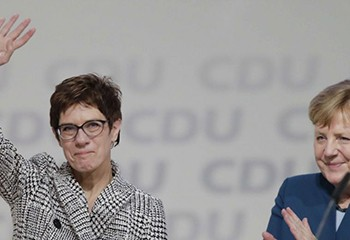 CDU : Annegret anti-mariage gay succède à Angela