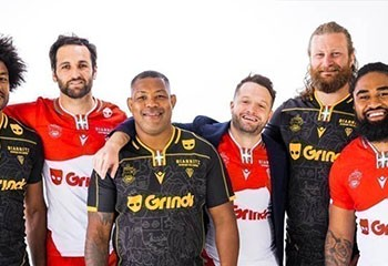 Biarritz : l'application gay Grindr devient le sponsor de l'équipe de Rugby