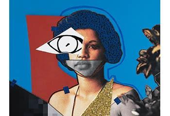 L'artiste afro-américaine lesbienne Mickalene Thomas investit deux galeries parisiennes