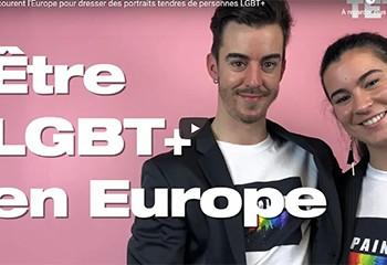 Ils parcourent l'Europe pour dresser des portraits tendres de personnes LGBT+