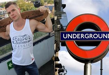 Londres : une star du porno gay plaide coupable après avoir fait un plan à trois dans le métro