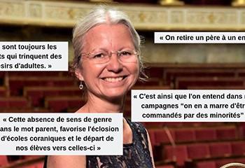 Agnès Thill récidive contre la PMA et sème le trouble dans les rangs de La République en marche