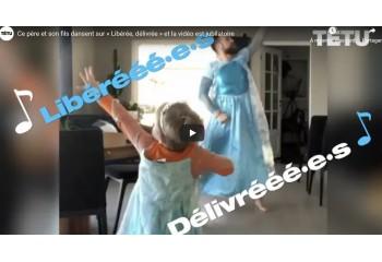 Ce père et son fils dansent sur « Libérée, délivrée » et la vidéo devient virale