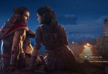 Assassin's Creed Odyssey fait polémique pour avoir imposé une relation hétéro : Ubisoft se ravise