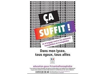 LGBTphobies à l'école Une campagne de sensibilisation contre l'homophobie et la transphobie en milieu scolaire