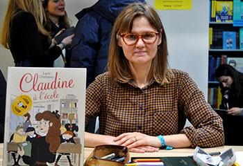 « Claudine à l'école », les bulles bies de Lucie Durbiano